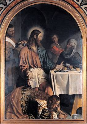 Bonvicino Alessandro Known As Moretto Art Print by Everett