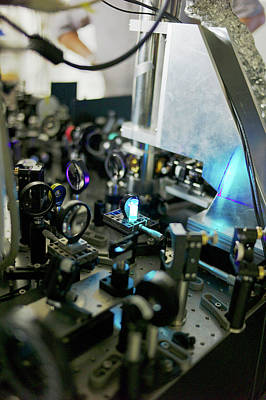 Luminescence Photograph - Bose-einstein Condensate by Ibm Research