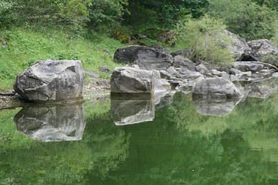 Photograph - 3 Boulders 6 Boulders by Phoenix De Vries