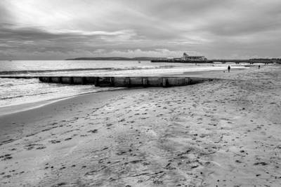 Photograph - Bournemouth Beach by Chris Day