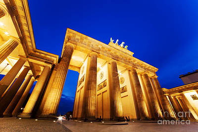 Photograph - Brandenburg Gate Berlin Germany by Michal Bednarek