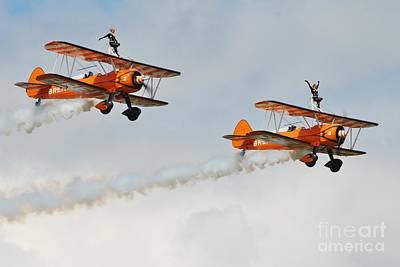 Photograph - Breitling Wing Walkers by David Fowler