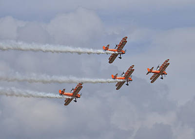 Photograph - Breitling Wingwalkers by Shirley Mitchell