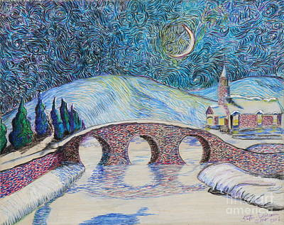 Painting - Bridge To Eternity by Stefan Duncan
