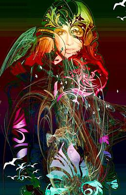 Britney  Art Print by Bogdan Floridana Oana