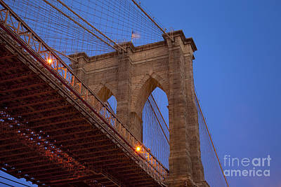 Photograph - Brooklyn Bridge by Brian Jannsen