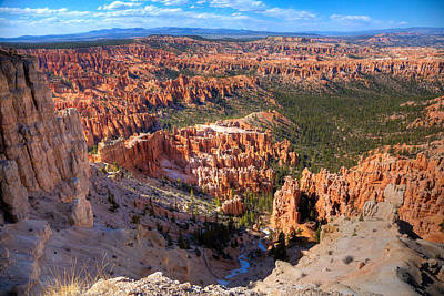Southwest Landscape Photograph - Bryce Canyon by Alexey Stiop