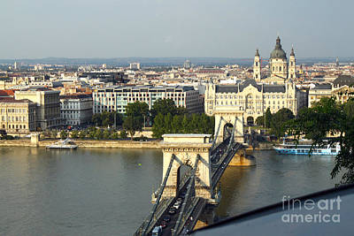 Photograph - Budapest Hungary Panorama by Gregory Dyer