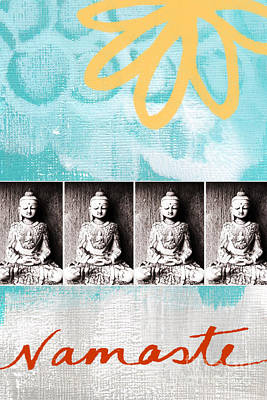 Buddha Art Print by Linda Woods