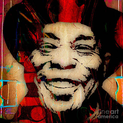 Rock Legends Mixed Media - Buddy Guy Collection by Marvin Blaine