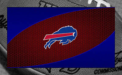 Buffalo Bills Art Print by Joe Hamilton