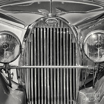 Photograph - Bugatti Type 57 by Dennis Hedberg