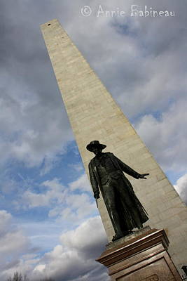 Photograph - Bunker Hill by Anne Babineau