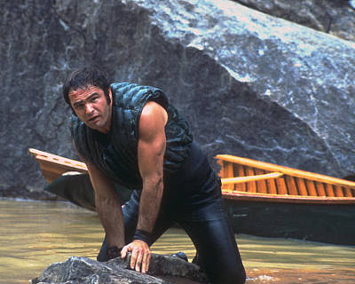 Deliverance Photograph - Burt Reynolds In Deliverance  by Silver Screen