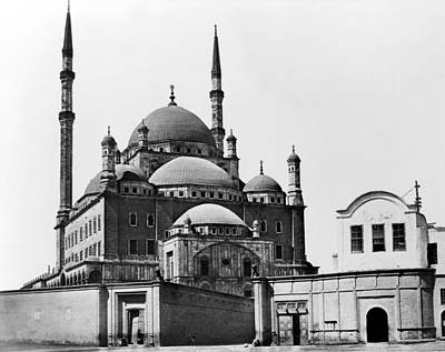 Mohammad Photograph - Cairo Mosque by Granger
