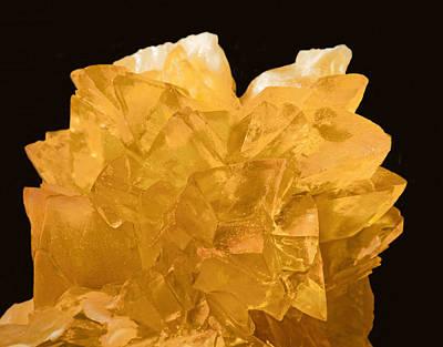 Photograph - Calcite Crystals by Millard H. Sharp