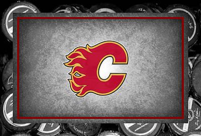 Calgary Flames Print by Joe Hamilton