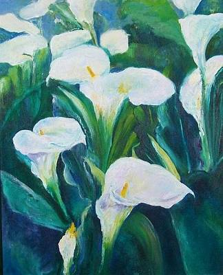 Calla Lily Oil Paintings | Fine Art America