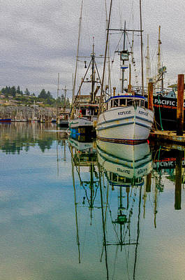 Photograph - Calm Harbor by James Hammond