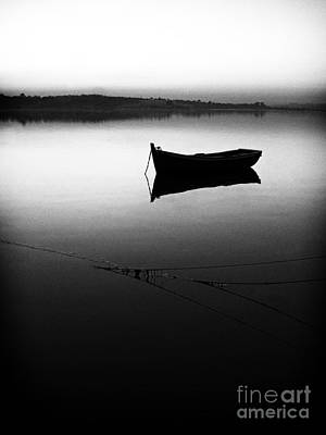Small Boat Photograph - Calmness by Jose Elias - Sofia Pereira