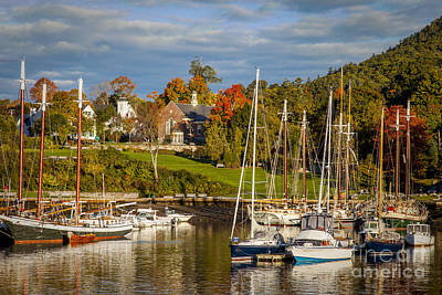 Photograph - Camden Maine by Brian Jannsen
