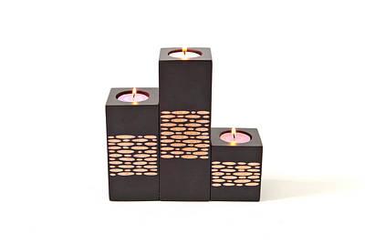 Candle Holders Art Print