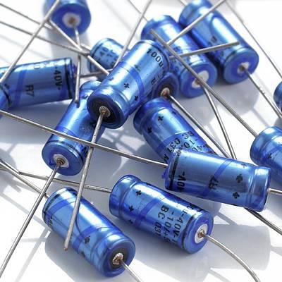 Capacitors Art Print