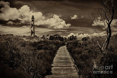 Photograph - Cape Lookout Lighthouse by Tony Cooper