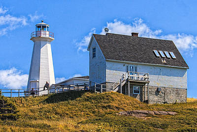 Photograph - Cape Spear Lighthouse by Perla Copernik
