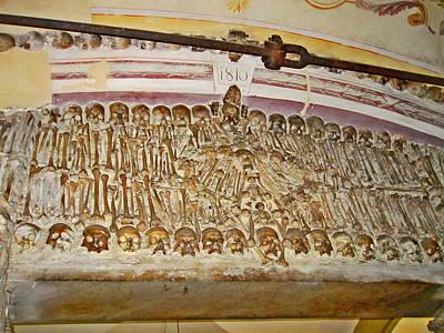 Capela Dos Ossos. Chapel Of Bones. Evora. Portugal. Original by Andy Za