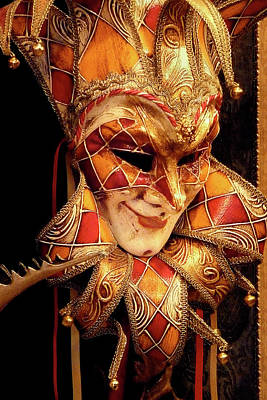 Photograph - Carnivale Mask 1 by Vicki Hone Smith