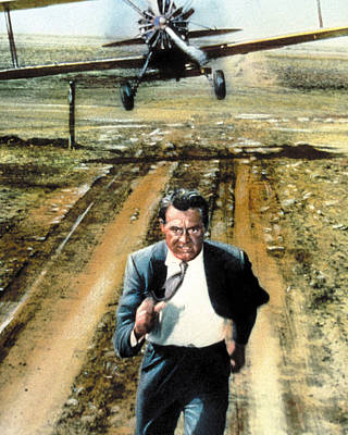 Cary Grant Photograph - Cary Grant In North By Northwest  by Silver Screen