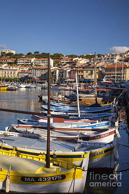 Photograph - Cassis Boats by Brian Jannsen