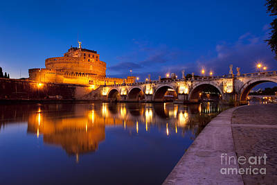 Photograph - Castel Sant Angelo by Brian Jannsen