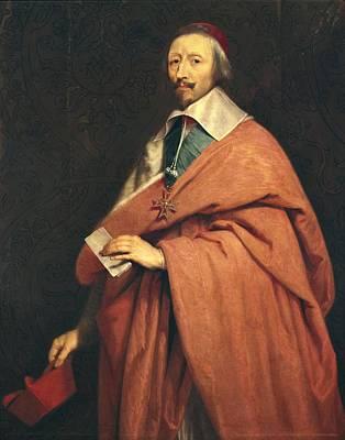 Richelieu Photograph - Champaigne, Philippe De 1602-1674 by Everett