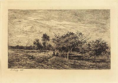 Charles-françois Daubigny French, 1817 - 1878 Print by Quint Lox