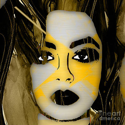 English Mixed Media - Charli Xcx Collection by Marvin Blaine