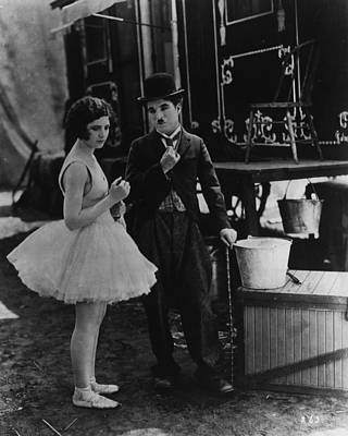 Charlie Chaplin Photograph - Charlie Chaplin by Retro Images Archive