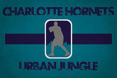 Charlotte Photograph - Charlotte Hornets by Joe Hamilton