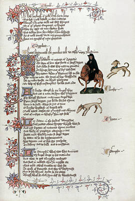 Literature Painting - Chaucer Canterbury Tales by Granger
