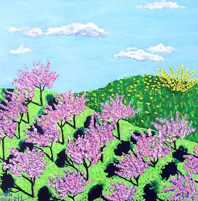 Painting - Cherry Grove by Angela Annas