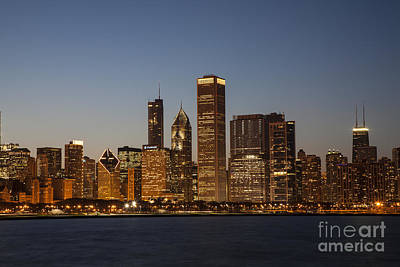 Photograph - Chicago Skyline by Timothy Johnson