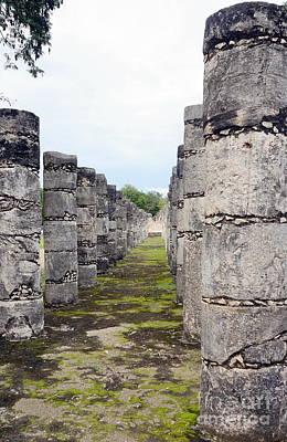 Photograph - Chichen Itza Ruins 16 by Rachel Munoz Striggow