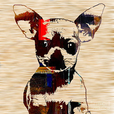Puppy Mixed Media - Chihuahua by Marvin Blaine