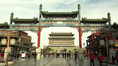 Photograph - Chinese Gate by Alfred Ng