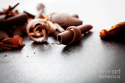 Photograph - Chocolate Curls by Kati Finell