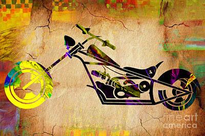 Chopper Art Art Print