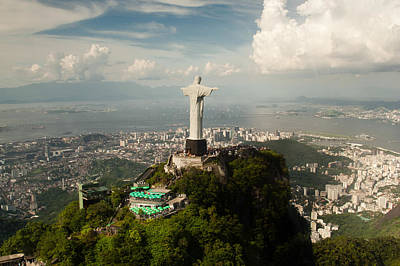 Photograph - Christ The Redeemer Statue by Celso Diniz