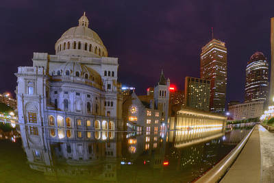 Christian Science Center-boston Art Print by Joann Vitali