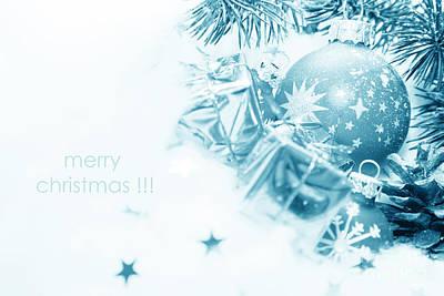 Frozen Photograph - Christmas Balls Decoration by Michal Bednarek
